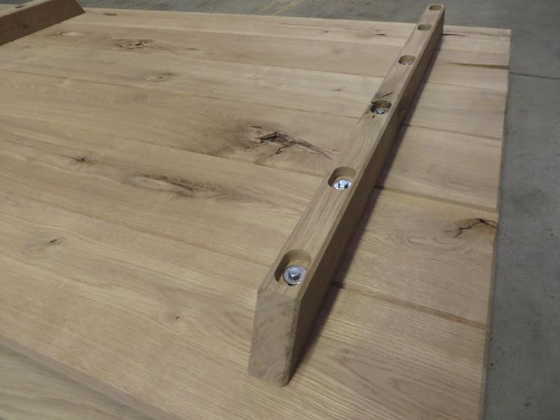 Tischplatte Unterzug