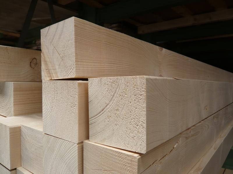 Fichte Konstruktionsvollholz 12 x 12 cm