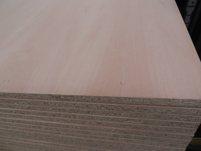 Spanplatte furniert Buche 19 mm