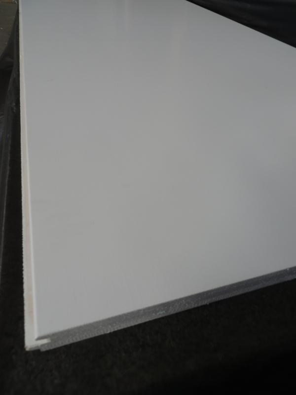Dreischichtplatte Opal weiß 19 mm