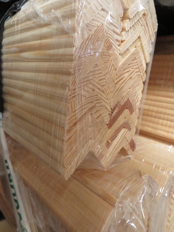 Winkelleiste Kiefer astrein 28 x 28mm