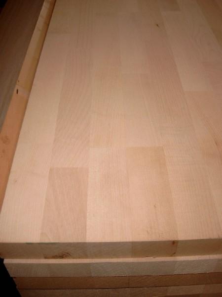 27 Mm Massivholzplatte Leimholz Buche Gezinkt 300 X 63 Cm Holz Damrosch