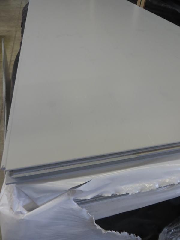 Dreischichtplatte RAL 7040 Fenstergrau 19 mm