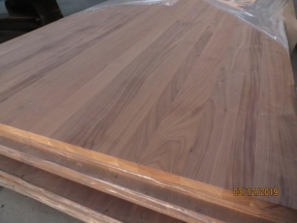 Nussbaum Leimholzplatte amerikanisch Walnut A/B