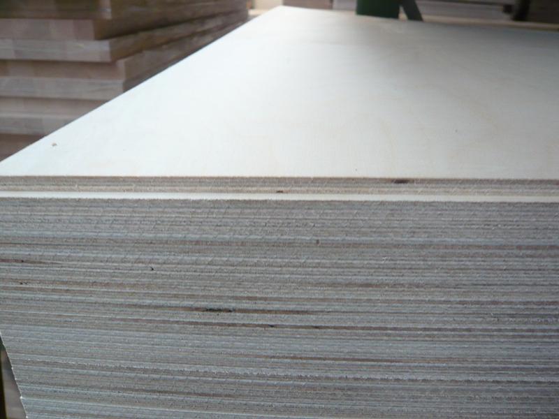 Birke Multiplexplatte 12 mm querfurniert