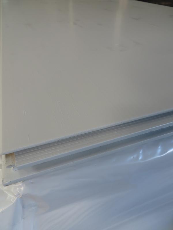 Dreischichtplatte RAL 7035 lichtgrau 19 mm