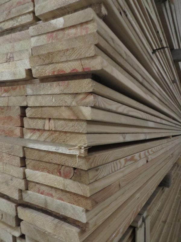 Rhombusleiste Lärche sib. 20 x 144 mm