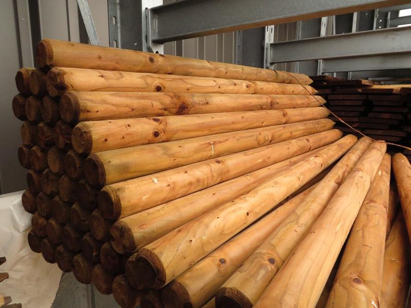 Sichtschutz Holz Kesseldruckimprägniert ~   & Zaunbretter  Zäune & Palisaden  Gartenholz  Holz Damrosch