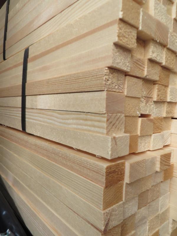 Quadratleiste Kiefer astrein 14 x 14 mm