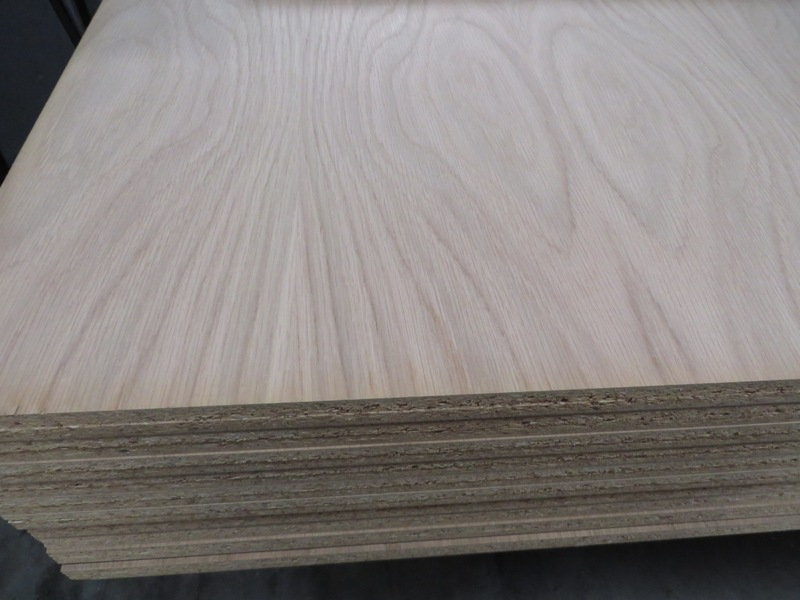 Spanplatte furniert Eiche 19 mm