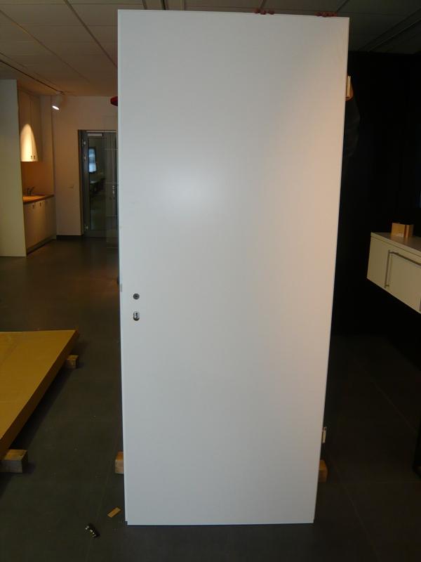 Ausstellungstuer Weisslack