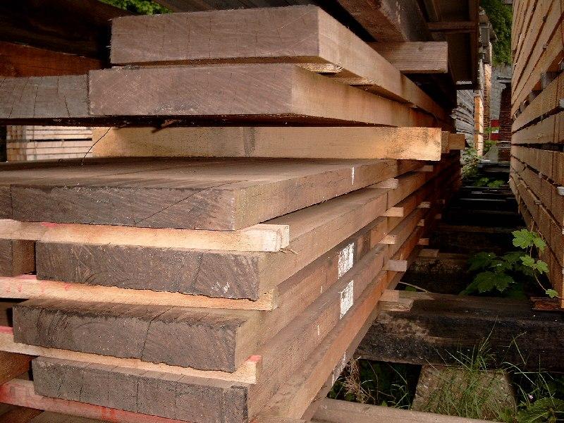 Bangkirai sägerauh 52 x 310 mm