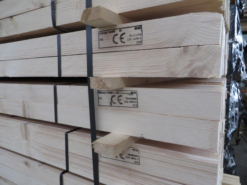 Fichte Dachlatte CE-S10TS 40 x 60 mm