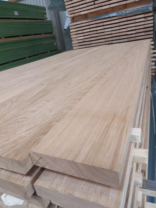 Eiche Glattkantbrett A-Sortierung 26 x 125 mm