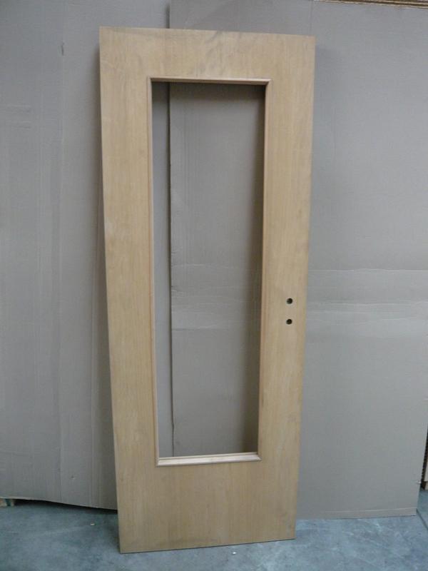 Tür streichfähig 198,5 x 73,5 cm L Lichtausschnitt