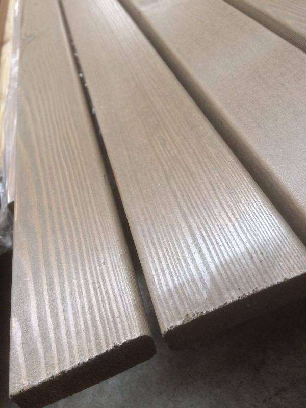 Rhombusleiste Lärche sib. patina medium 20 x 69 mm